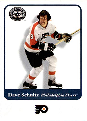 2001-02 Greats of the Game #45 Dave Schultz philadelphia flyers
