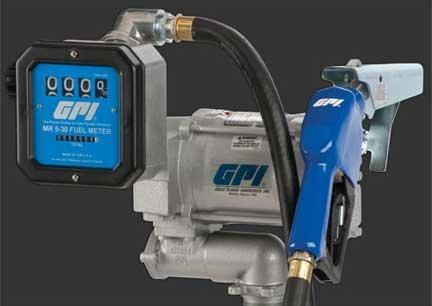 GPI 133600-59 Aluminum M-3120-AL/MR 5-30-G6N Heavy Duty Vane Pump Combo, 75 LPM, 115V AC