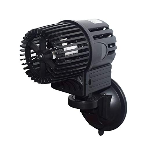 Upettools Aquarium Circulation Powerhead Wavemaker Pump, Aquarium Controllable Submersible Circulation Powerful Fish Tank Suction Cup Pump 12000L/H.