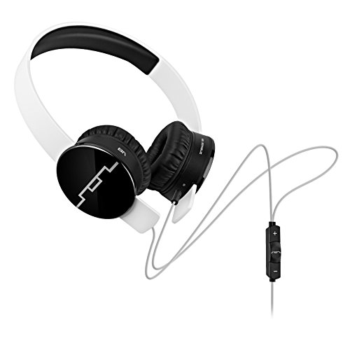 SOL REPUBLIC 1211-02 Tracks On-Ear Interchangeable Headphones with 3-Button Mic and Music Control - White (Certified Refurbished)