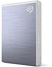 Seagate One Touch SSD 2TB External SSD Portable – Blue, speeds up to 1030MB/s, with Android App, 1yr Mylio Create, 4mo Adobe Creative Cloud Photography plan and Rescue Services (STKG2000402)