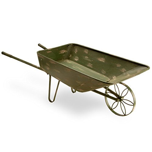 National Tree 39 Inch Garden Accents Antique Green Garden Cart (GAGC30-39AG) Review