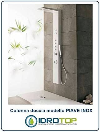 Columna Ducha Piave inoxidable Hidromasaje Multifunción grifo ...
