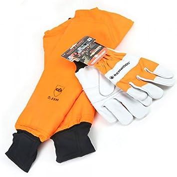 Manchettes protection tronçonneuse avec gants Kerwood. T 9 - Pièce neuve 1989ee850bb