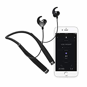 Vi - Your Personal AI Trainer and Fitness Tracker in Bluetooth Headphones with Advanced In-Ear Heart Rate - Premium Sound by Harman Kardon; Made for Running, Walking, & Cycling
