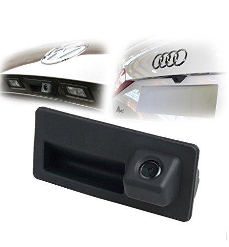 170 degree Car Trunk Handle Backup Camera Rear View HD Camera Night Vision parking camera Reverse Parking Assistance for Audi for VW Tiguan/Golf/Jetta/Passat/Touran/Touareg/Lavida/Sagitar/Caddy