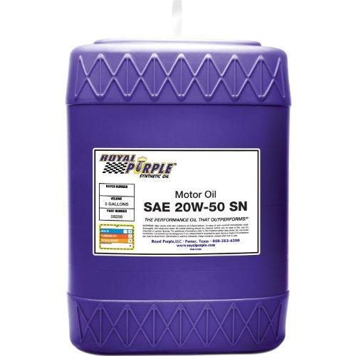 Royal Purple 06250 6pk Api Licensed Sae 20w 50 High