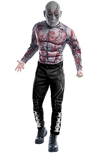 Rubie's Costume Co Guardians of The Galaxy Drax Costume, GOTG Vol. 2, X-Large -