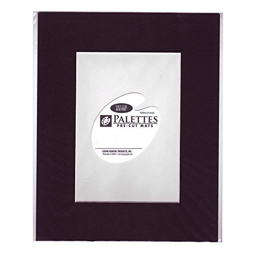Logan Graphic Products, Inc. Palettes Pre-Cut Mats rectangle smooth black 16 in. x 20 in.