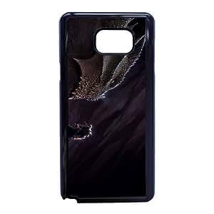 J7T87 dragón vs caso funda héroe G7E4CS funda Samsung Galaxy Note 5 teléfono celular cubre WT8PUA0GL negro