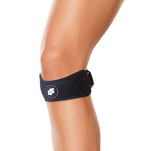Adjustable Patella Strap Knee Support To Accelerate Injury Recovery And Minimize Knee Pain - For Arthritis, Runners Knee, Volleyball & Hiking Patella Tendon Sleeve