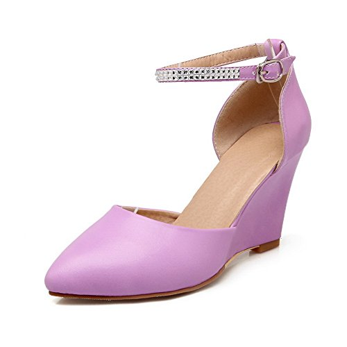 Girls Soft Purple Material Sandals Empty Engagement 1TO9 txpTST