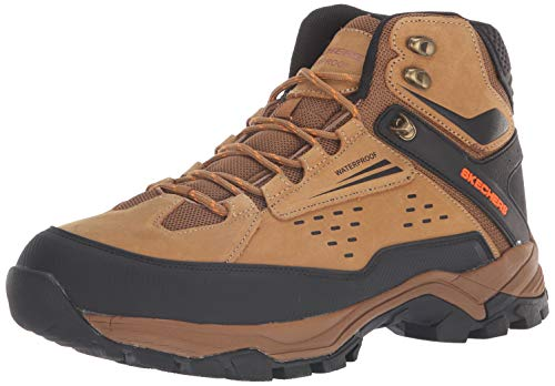 Image of Skechers Men's POLANO- Norwood Hiking Boot, cml, 12 Medium US