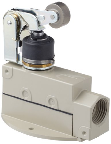 Enclose General Purpose Switch - Omron ZV-NA2-2S General Purpose Enclose Switch, High Breaking Capacity and Durability, Sealed Roller Arm Lever, Single Pole Double Throw AC, Base Mounting, 1/2-14NPSM Conduit Size