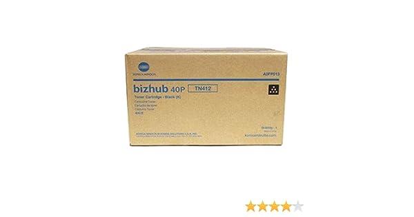 Konica-minolta A0fp013 Bizhub 40p Tn412 High Yield Black Toner