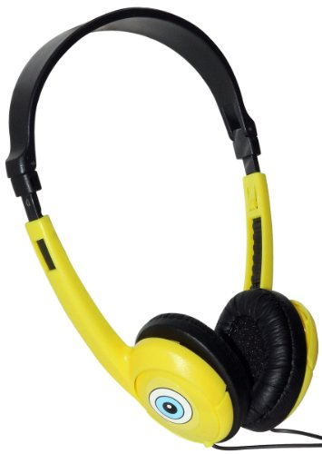 iHip SBFFH1 Nickelodeon - Spongebob Folding Headphones - Yellow/Black