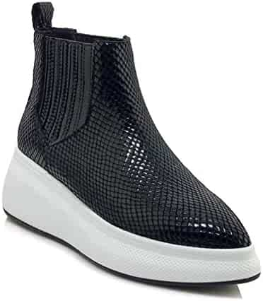 3fe922ea4b Shopping XinAndy or BONJOMARISA - Black - 3 - Fashion Sneakers ...