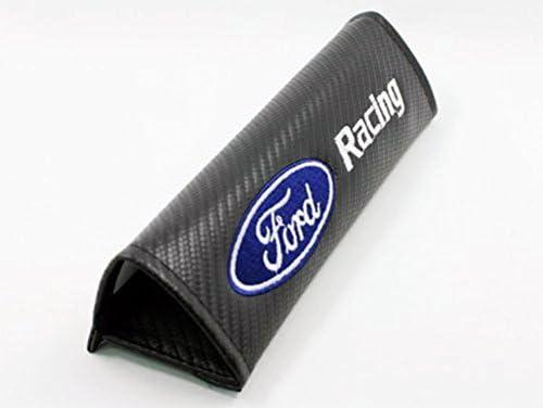protrex UK fordracing Karbonfaser-Effekt Sicherheitsgurt Schulterpolster Fiesta Focus Mondeo Kuga