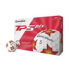 TP5 pix provides the golfer with more visibility in the NEW TP5 golf ball. A multi-color single graphic design gives the golfer better visibility during both high and low light hours making TP5 pix easier to see. Along with an under coating p...