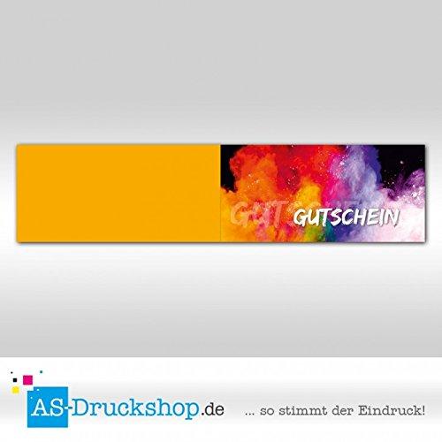 Gutschein für für für jeden Anlass - Regenbogen   100 Stück   DIN Lang B0794YSHRV | New Style  98e4c7