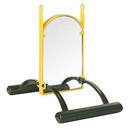 Birds Landing swing with mirror, 15 × 10 × 14 cm