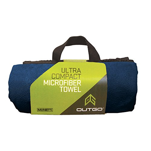 McNett Outgo Microfiber Ultra Absorbent Quick Dry Gym Towel - Navy Blue XL