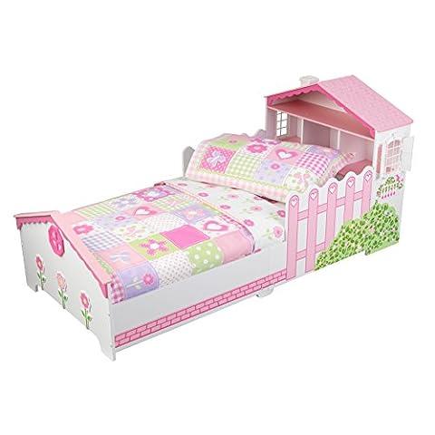 KidKraft Toddler Dollhouse Cottage Bedding Set (4-Piece)