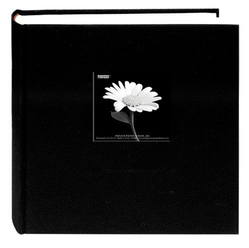 Frame Cover Photo Album (Fabric Frame Cover Photo Album 200 Pockets Hold 5x7 Photos, Deep)
