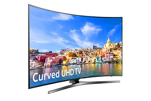 96598c2109e Amazon.com  Samsung UN55KU7500 Curved 55-Inch 4K Ultra HD Smart LED TV  (2016 Model)  Electronics