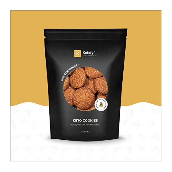 Ketofy - Keto Cookies (500g) | Yummy and Nutritious Keto Cookies