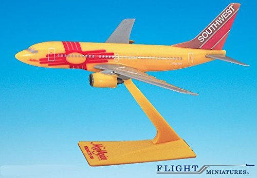 Southwest New Mexico 737-700 Airplane Miniature Model Plastic Snap Fit 1:200 Part# ABO-73770H-005 (Southwest Airlines Model Plane compare prices)