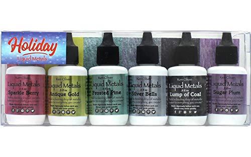 Ken Oliver Liquid Metals Holiday Assortment