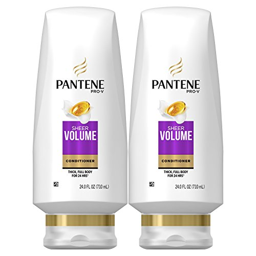 Pantene Volumizing Conditioner for Fine Hair, Sheer Volume,