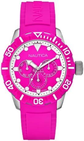 Nautica NSR 101 A13641G - Reloj de Cuarzo para Mujeres, Color Rosa