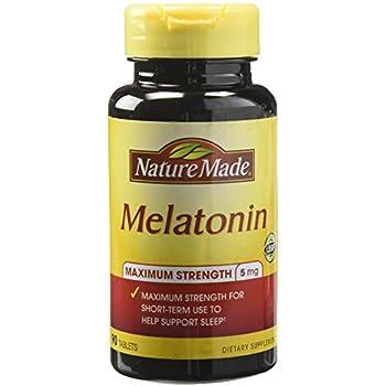 Nature Made Melatonin Tablets, 5 Mg