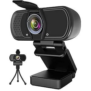 Hrayzan HD Webcam 1080P with Microphone PC Laptop Desktop
