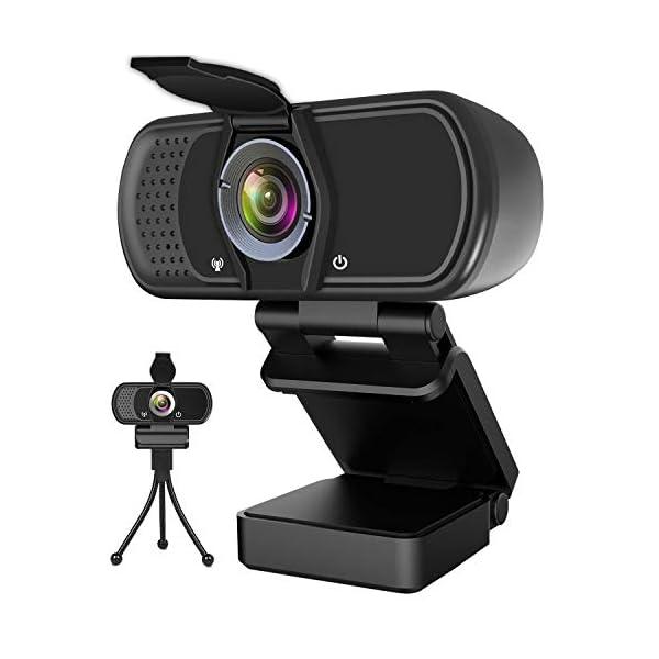 Hrayzan Webcam 1080PHD Webcam with MicrophonePC Laptop Desktop USB Webcams with 110 Degree