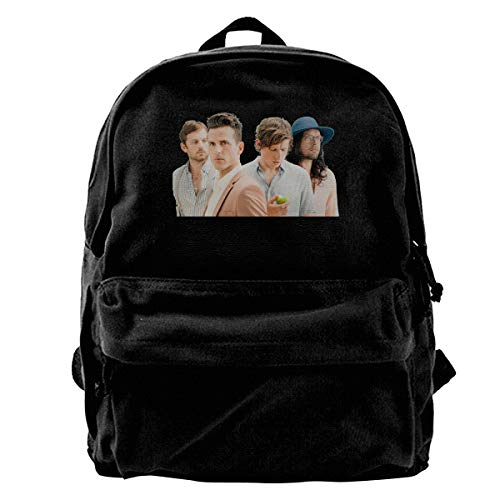 Kings Of Leon Casual Style Lightweight Canvas Backpack School Bag Travel Daypack