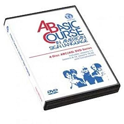 Harris Communications DVD349 A Basic Course in American Sign Language - 4-Disc DVD ABC & ASL Series: Toys & Games