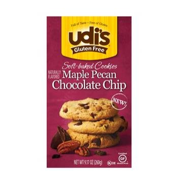 Udi's Gluten Free Soft-Baked Maple Pecan Cookies, 9.1 Oz by Udi's