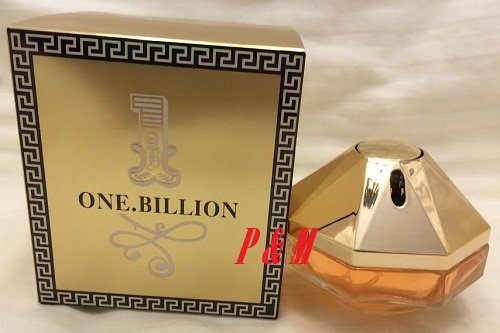 Tiverton Perfume 1 Billion Eau de Parfum Spray for Women, 2.5 Ounce