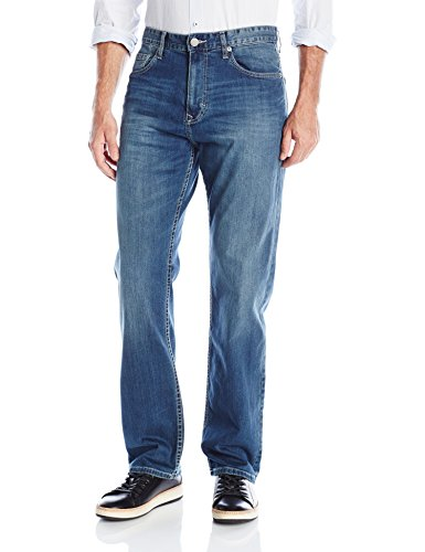 Calvin Klein Men's Relaxed Straight, Authentic Blue, 36Wx32L ()