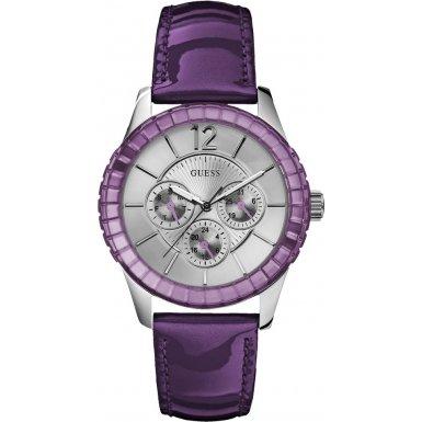 Guess Ladies Purple Watch W95134L4
