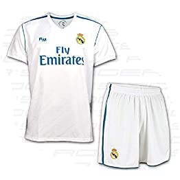 Box Set 1 equipacion Real Madrid Réplique officielle 2017 - 2018- taille 6 ans