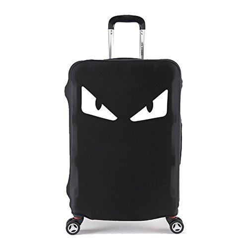 S Washable Travel Luggage Cover Myosotis510 Funny Cartoon Suitcase Protector Fits 18-32 Inch Luggage , Camera 18-22 luggage