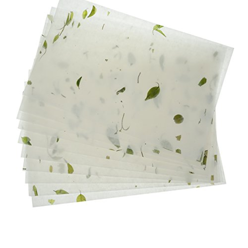 Bilipala Natural Plant Handmade Xuan Paper Rice Paper Letter Paper Writing Paper