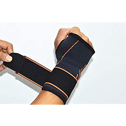 Cvthfyky Sports Wristband the Palm the Hand Can Adjusted for Use Adults Estimated Price £14.30 -