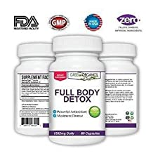 Full Body Detox by Green Organics - Cleanse Your Body and Lose Weight