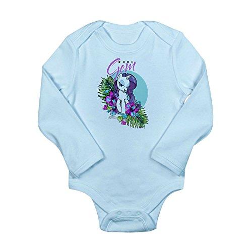(CafePress MLP-Rare Gem Body Suit - Cute Long Sleeve Infant Bodysuit Baby Romper)