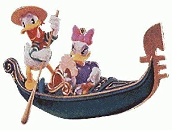 Hallmark Keepsake Ornament Donald and Daisy in Venice Romantic Vacations 1st in Series QXD4103 (1998) by Hallmark -